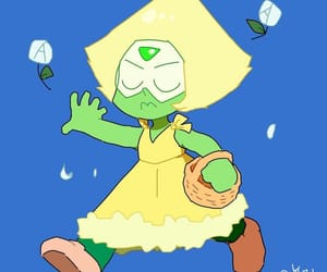 aesthetic, peridot, and steven universe image