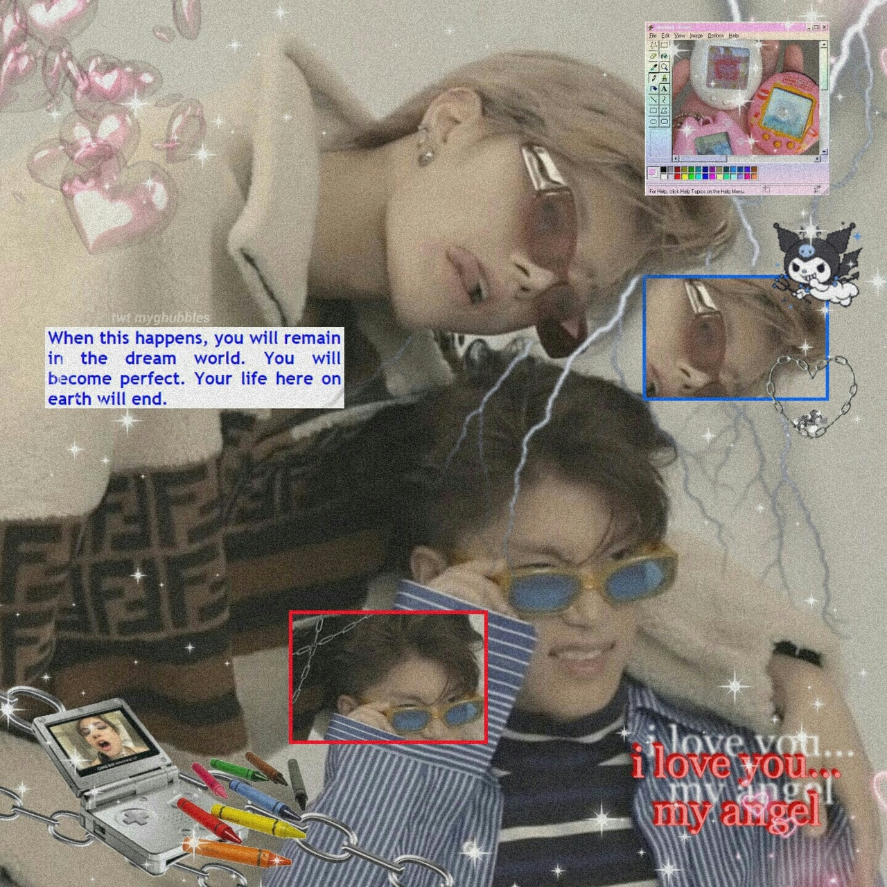 cyber, cybergoth, and taeil image