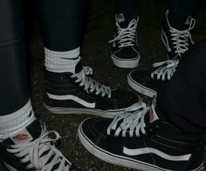 vans, aesthetic, and friends image
