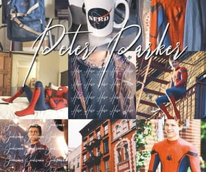 aesthetic, edit, and spiderman image