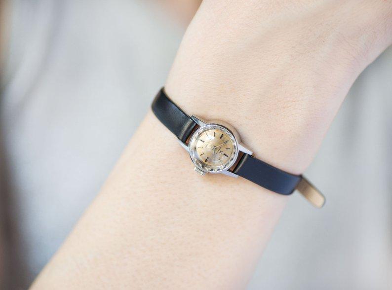 etsy, minimalist watch, and wedding gift omega image