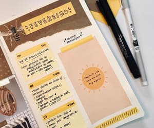 art, writing, and yellow image