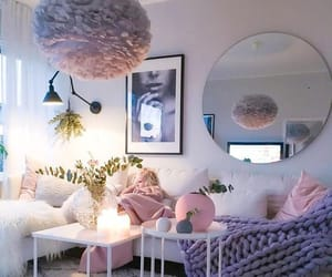 grey, white, and home decor image