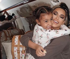 famous, mother and daughter, and happiness image