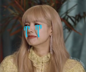 lisa, lalisa manoban, and crying meme image