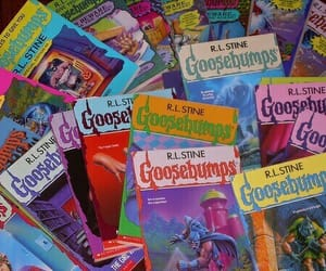 goosebumps, book, and 90s image
