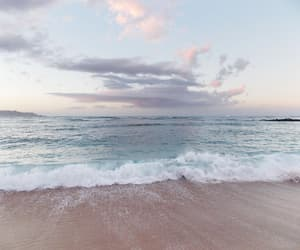 beach, ocean, and sea image