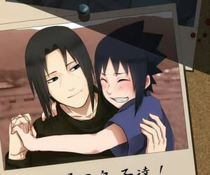 itachi, sasuke, and naruto image