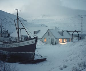 dark, nordic, and photography image