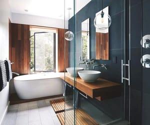 bathroom, decoration, and banheiro image
