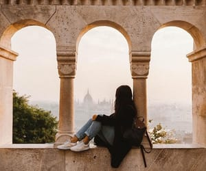 europe, girl, and traveling image