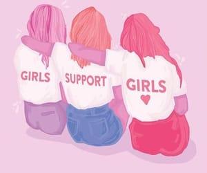 girls, empowerment, and feminism image
