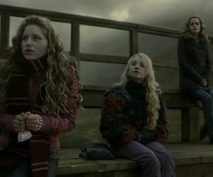 harry potter, hermione granger, and luna lovegood image