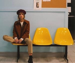 beret, fashion, and outfit image
