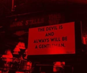 quotes, Devil, and black and white image