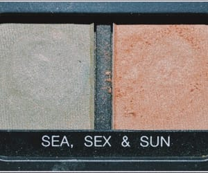 beige, black, and color image