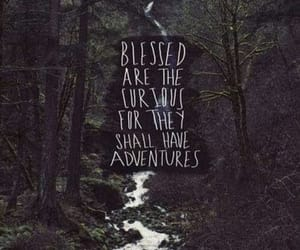 adventure, quotes, and curious image