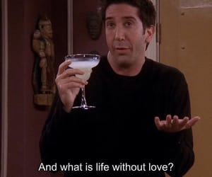 friends, ross, and love image