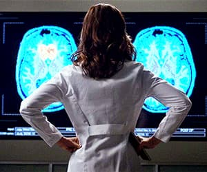 gif, greys anatomy, and amelia shepherd image