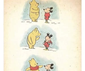 mickey mouse and winnie the pooh image