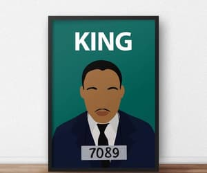 african american, martinlutherking, and classroom poster image
