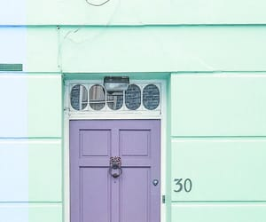 doors, pastel, and photography image