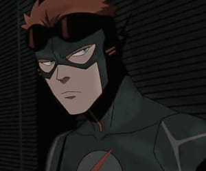 DC, psd, and wally west image