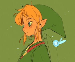 fanart, link, and ocarina of time image