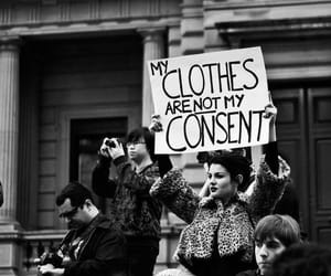 protest, consent, and protesting sign image