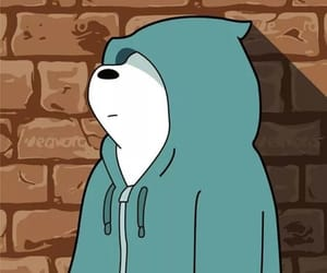 bear, cartoon, and ice bear image