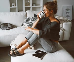 girl, lifestyle, and relax image