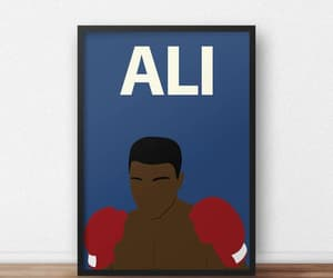 boxing, civil rights, and inspirational poster image