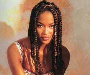 Naomi Campbell, braid, and model image