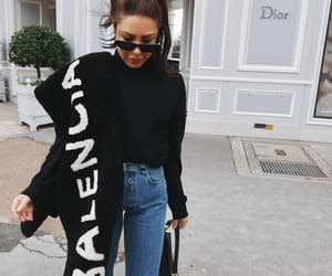 Balenciaga, blogger, and dior image