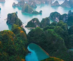 Vietnam, halong bay, and heart image