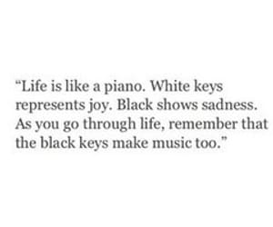 quotes, life, and piano image
