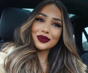 long hair hairstyle, goal goals life, and beauty makeup lips image