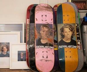 skateboard, grunge, and aesthetic image