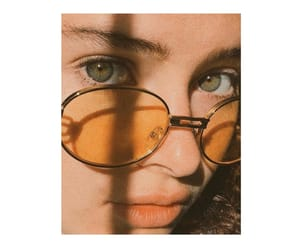 beauty, glasses, and green image