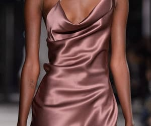 fashion, dress, and silk image