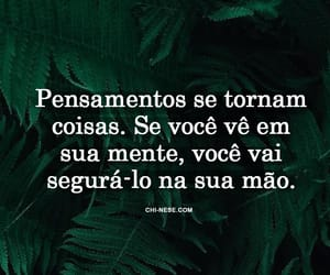 portuguese, frases, and pensamento positivo image
