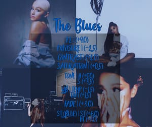 blue, filters, and ariana image