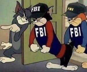 meme, fbi, and reaction image