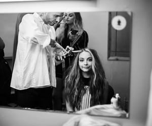 jade thirlwall, little mix, and black and white image