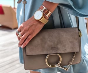 bag, chloe, and outfit image