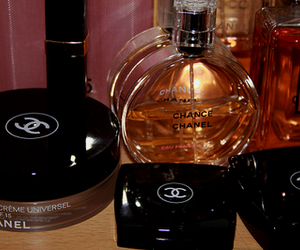chanel, makeup, and perfume image