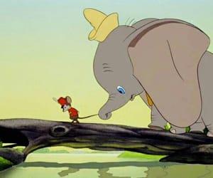 disney, ears, and elephant image