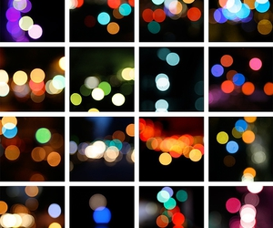 bokeh, composite, and dancing image