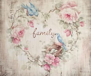 art, background, and family image