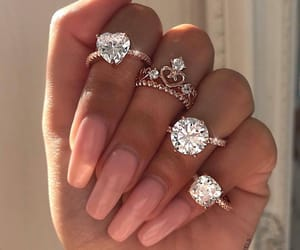 diamons, ring, and style image